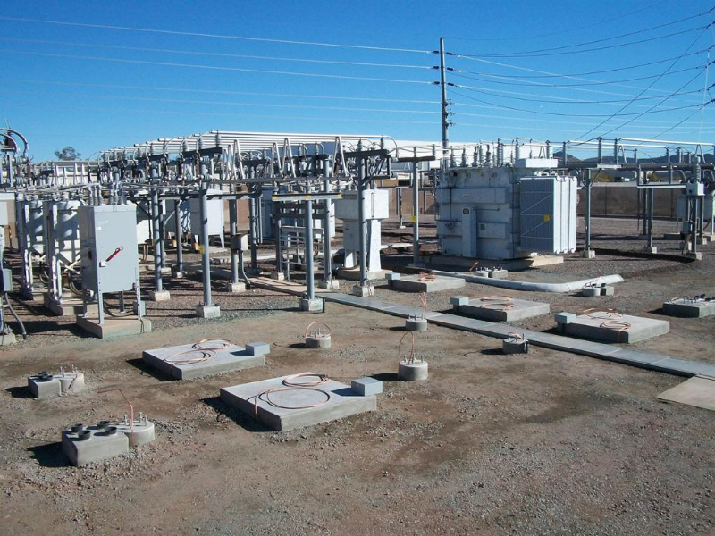Substations & Switchyards - Vargas General Engineering, LLC